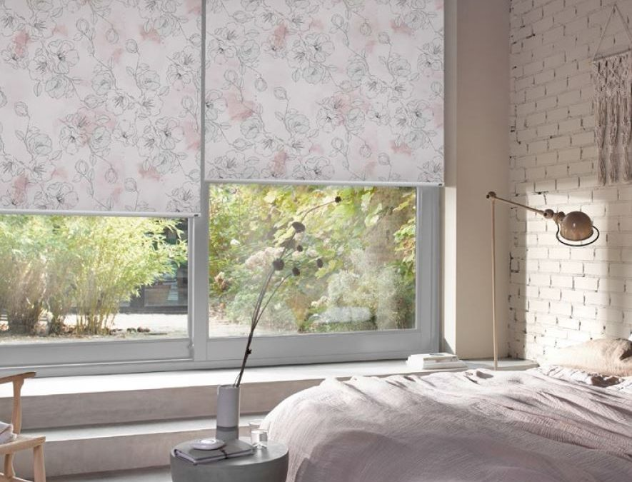 Most popular patterned fabric is Aria Botanics colour Flotsam